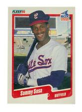 New listing 1990 Fleer Sammy Sosa #548 Baseball Card