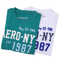 Aeropostale Men Short Sleeve AERO NY 87 Graphic T-Shirt Style 7603 $0Ship