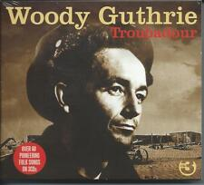 Woody Guthrie - Troubadour - 68 Pioneering Folk Songs (3CD 2008) NEW/SEALED