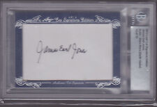 Leaf Cut Signature James Earl Jones (Darth Vader) Autograph Auto 12/13