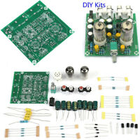 6J1 Valve Pre-amp Tube PreAmplifier Board DIY KIT Headphone Buffer +Case AC 12V