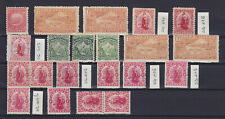 NEW ZEALAND 1898-1909, 21 STAMPS, MLH/MNH