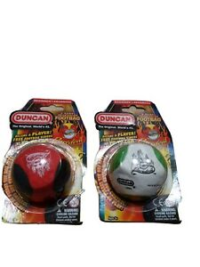 2 Duncan Footbag Daredevil 5 panel Red Black green white Kids Toys age 6+ NEW