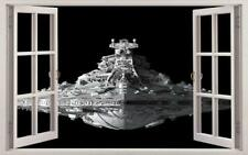 3D Star Wars Spaceship  -Vinyl-Bed Wall Sticker DIY Art Home Decoration