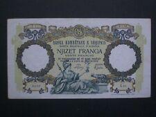 More details for ***nice 'gvf' rare albania 1939 20 franga  banknote*******