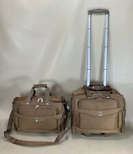 "Travelpro Flightpro 4 Copper Carry On Luggage 15"" Deluxe Tote & 15"" Rolling Tote"
