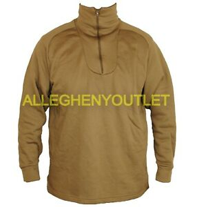US Military HEAVYWEIGHT POLYPROPYLENE POLYPRO THERMAL UNDERWEAR Shirt XS-XL NIB