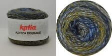 AZTECA DEGRADÈ von Katia 100g Wolle Fb. 504 Blau - Dunkelblau - Ocker