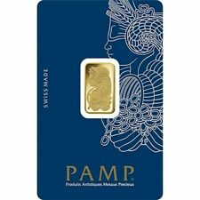PAMP Suisse Fortuna 5g Gram Fine Gold Bar Bullion 999.9
