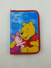 Disney Winnie The Pooh Piglet and Pooh pencil case !mpact