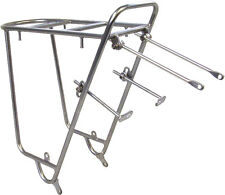 NEW Nitto Mt-Campee Rear Mount Bicycle Rack Silver