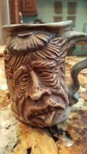 JIM RUMPH 1971 VINTAGE Art Pottery Mug, The HANGOVER w/ PINK ELEPHANT inside