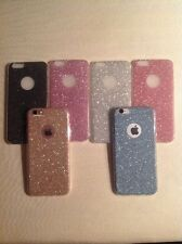 "GLITTER SPARKLY BACK Fits IPhone Soft Bling Shock Proof Silicone Case Cover ""7 x"