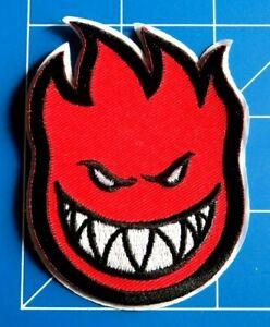SPITFIRE BIGHEAD RED PATCH, DRESS UP YO RAGGEDY ASS!