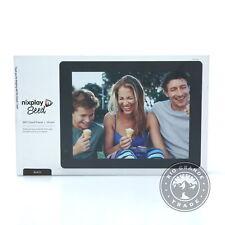"OPEN BOX Nixplay W10A WiFi Digital Photo Frame with IPS Display in Black - 10"""