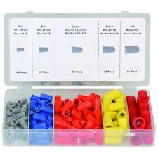 158pc Wire Twist Connectors Assortment Kit Set 22 14 Awg Caps Storage Case Nuts