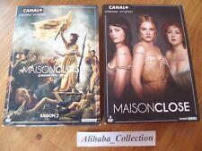 LOT 2 COFFRET DVD MAISON CLOSE SAISON 1 2 INTEGRALE COMPLET CANAL+ SERIE