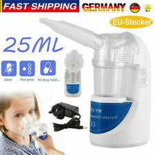 Mini Inhalator Vernebler Inhalationsgerät Ultraschall für Erwachsene Kinder EU