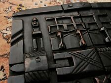 More details for dogon ethnographic tribal artifact - vintage hand carved granary door - mali