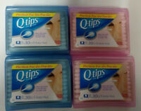 4/Pack - Q-tips Cotton Swabs, Purse Pack, 120 Swabs Total