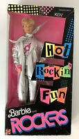Vintage 1986 Mattel - Barbie And The Rockers Ken Factory Sealed NEW SEALED