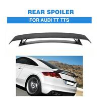 Carbon Fiber Rear Wing Spoiler Deck Lid Fit for Audi MK2 TT 8J TTS 2-Door 08-14