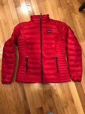 Patagonia Women's Down Sweater Jacket S Small Red