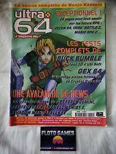 Magazine Nintendo Ultra 64 N°3 Zelda 64 Ogre Battle - Jeux Video - Floto Games