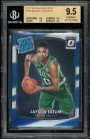 Jayson Tatum Rookie Card 2017-18 Donruss Optic #198 BGS 9.5 (9.5 9.5 9.5 9.5)