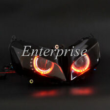Projector HID Light Headlight Assembly Red Angel Eye for Honda CBR600RR 07-12 08