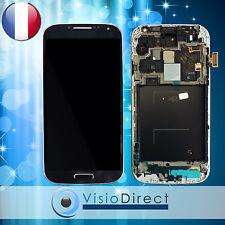 Ecran vitre complet sur chassis pour Samsung Galaxy S4 Advance i9506 noir