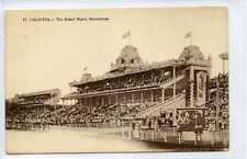 (Gu284-438) Horse Racing, Racecourse, CALCUTTA, India c1920 VG Unused