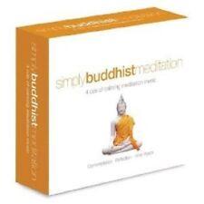 SIMPLY BUDDHIST MEDITATION 4 CD NEW+