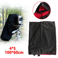 For 4X5 Format Camera Wrapping Waterproof Dark Cloth Focusing Hood Breathable US
