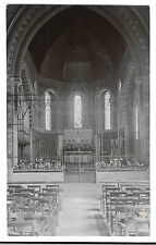 Altar &Nave of Unknown Victorian Church, Unposted, Union of Catholic Mothers RP