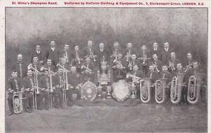 South Shileds, St Hildas Champion Band by Uniforms & Equipment Co Postcard unuse