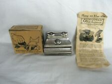 Vintage 1920 Berghman Ice Skate Sharpener with Instructions Maywood, Illinois