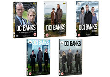DCI BANKS Complete Season Series 1 2 3 4 & 5 Detective Collection NEW DVD