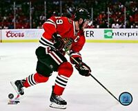 "Jonathan Toews Chicago Blackhawks NHL Action Photo (Size: 8"" x 10"")"