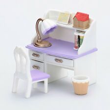 Sylvanian Families DESK SET WHITE Japan Limited Calico Critters