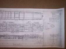 CV1 langley ship plan