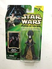 BOXED STAR WARS POWER OF THE JEDI QUEEN AMIDALA HASBRO ACTION FIGURE