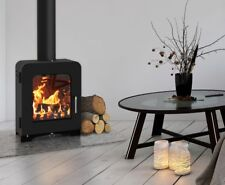 ST2 Multi-fuel Stove 5 KW Defra approved with 8 metre flexible liner kit