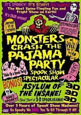 Monsters Crash The Pajama Party - Spook Show Spectacular DVD 4 X 3d Glasses