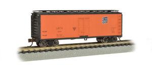 Bachmann 19851 N Scale 40' Wood-side Refrigerated Box Car Union/Soo Line
