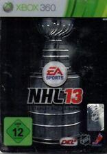 NHL 13 Stanley Cup COLLECTOR'S EDITION-XBOX 360-tedesco-Nuovo/Scatola Originale