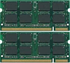 2GB 2X1GB DDR2 PC2-5300 667MHz Laptop SODIMM Memory RAM 200pin pc5300S Non-ECC