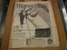 Rochester Times-Union June 21 1982 Nancy Lopez VG No ML 022117nonjhe