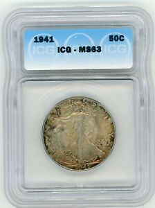 1941-P 1941 Walking Liberty Half Dollar ICG MS63
