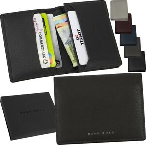 HUGO BOSS Card Case Credit Card Case Card Slots Money Case Business
